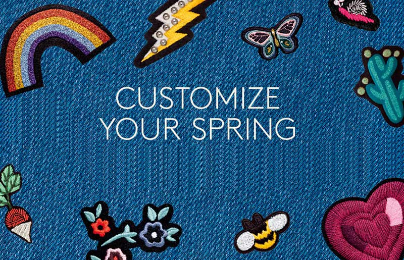 Customize Your New Spring Wardrobe!_比斯特上海购物村(奕欧来)